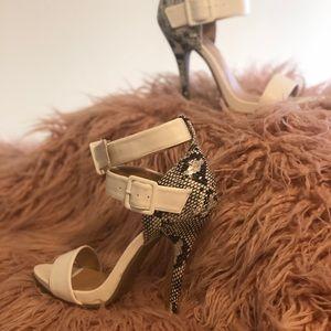 Buckled heels